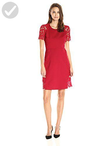 156ff62cc2fcd Elie Tahari Women's Hudson Dress, Poppy, 6 - All about women (*Amazon  Partner-Link)