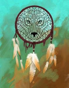 16 Best Attrape images | Dream catcher, Wolf dreamcatcher, Beautiful dream catchers #traumfängerbasteln