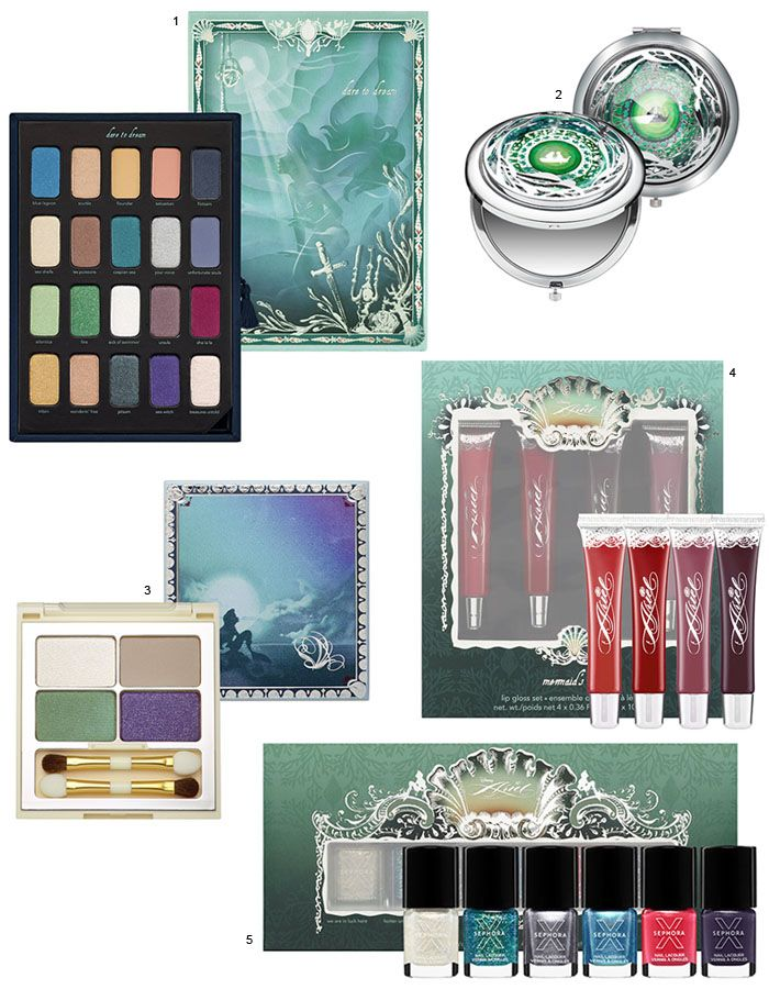 Disney Ariel Collection by Sephora! Storylook Palette Dare