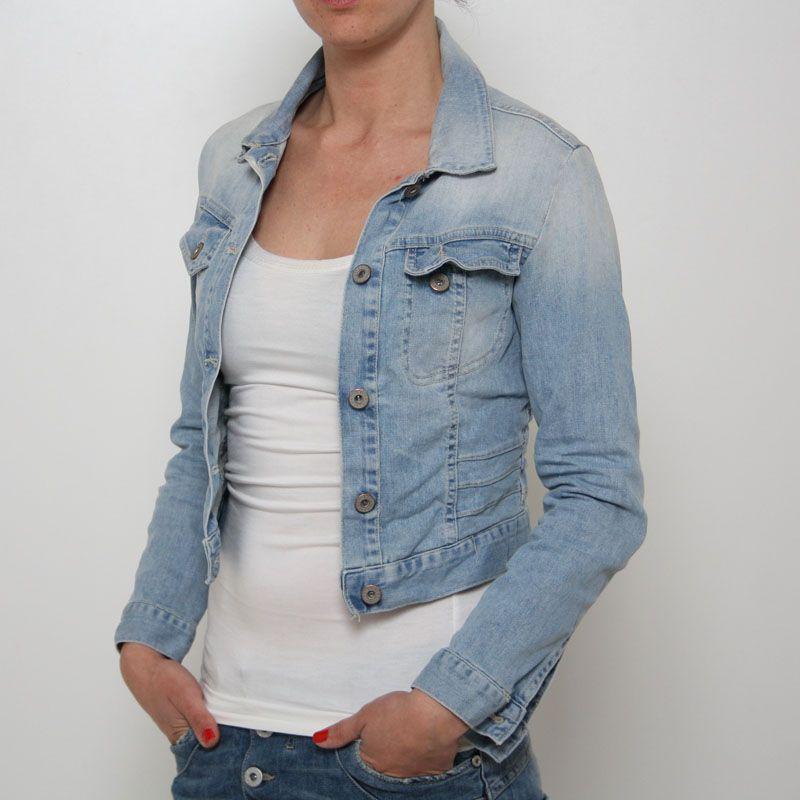 sale retailer d4f72 03ec1 Giubbino jeans Please - V492BQ2OQ | Jeans Jacket | Jeans ...