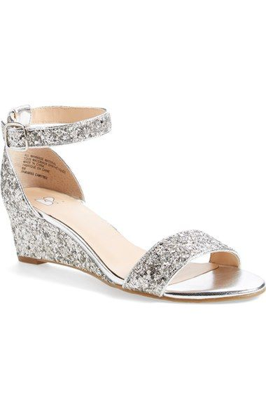 9a52ac2a63b Sparkly Wedge - For Kyla  amp  Taylor Bridal Shoes Wedges
