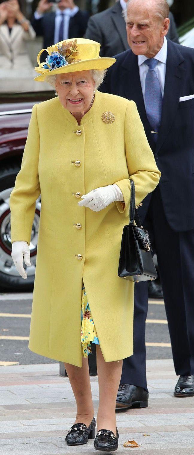 July 2017. Queen Elizabeth II at Metropolitan Police