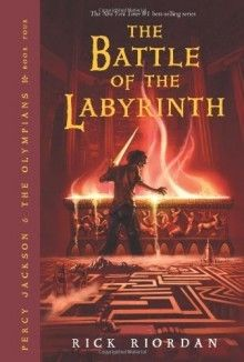 The Battle Of The Labyrinth Percy Jackson And The Olympians Book