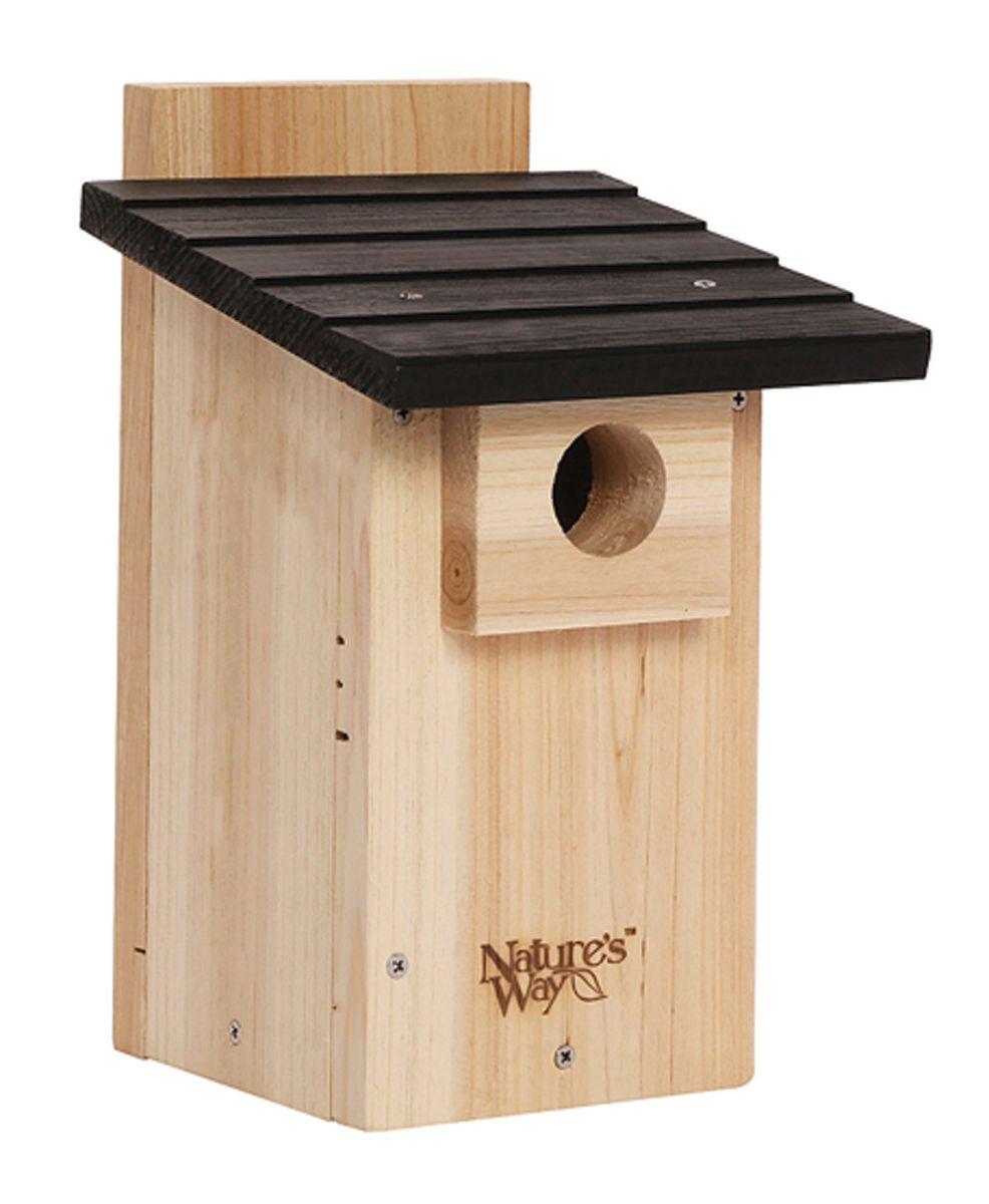 Birds Bluebird House With Viewing Window By Natures Way