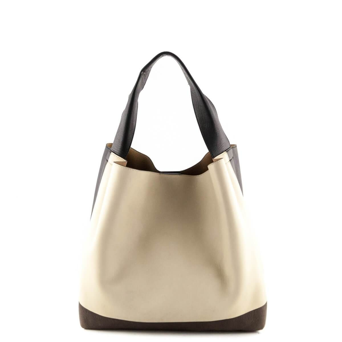 5b5b997ac873 Marni Color Block Lambskin Leather Tote - LOVE that BAG - Preowned  Authentic Designer Handbags