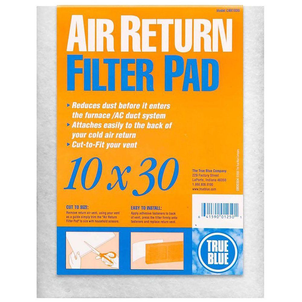 True Blue Cold Air Return Filter Pad by True Blue Air