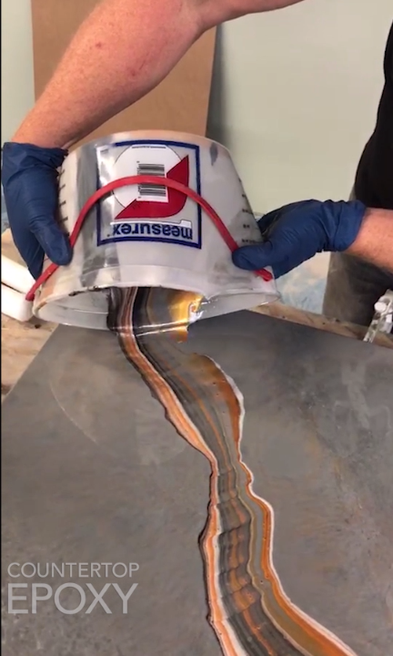 Quick How To: Epoxy Dirty Pour!