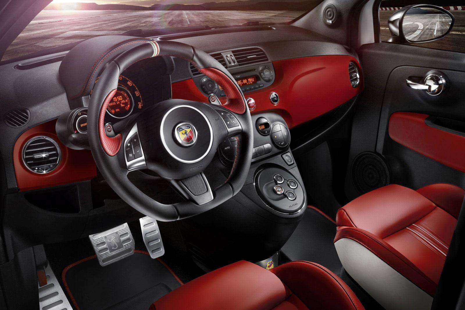 Interior Fiat Abarth 595 50th Anniversary (2013 - Edition 6 ...