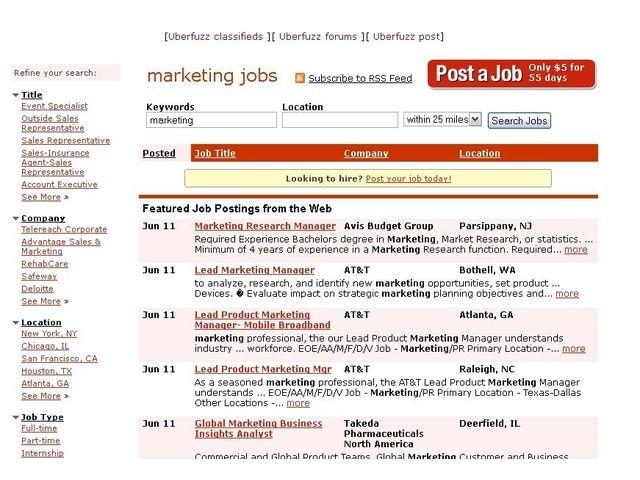 Uberfuzz : manufacturing - UBERFUZZ jobsearch