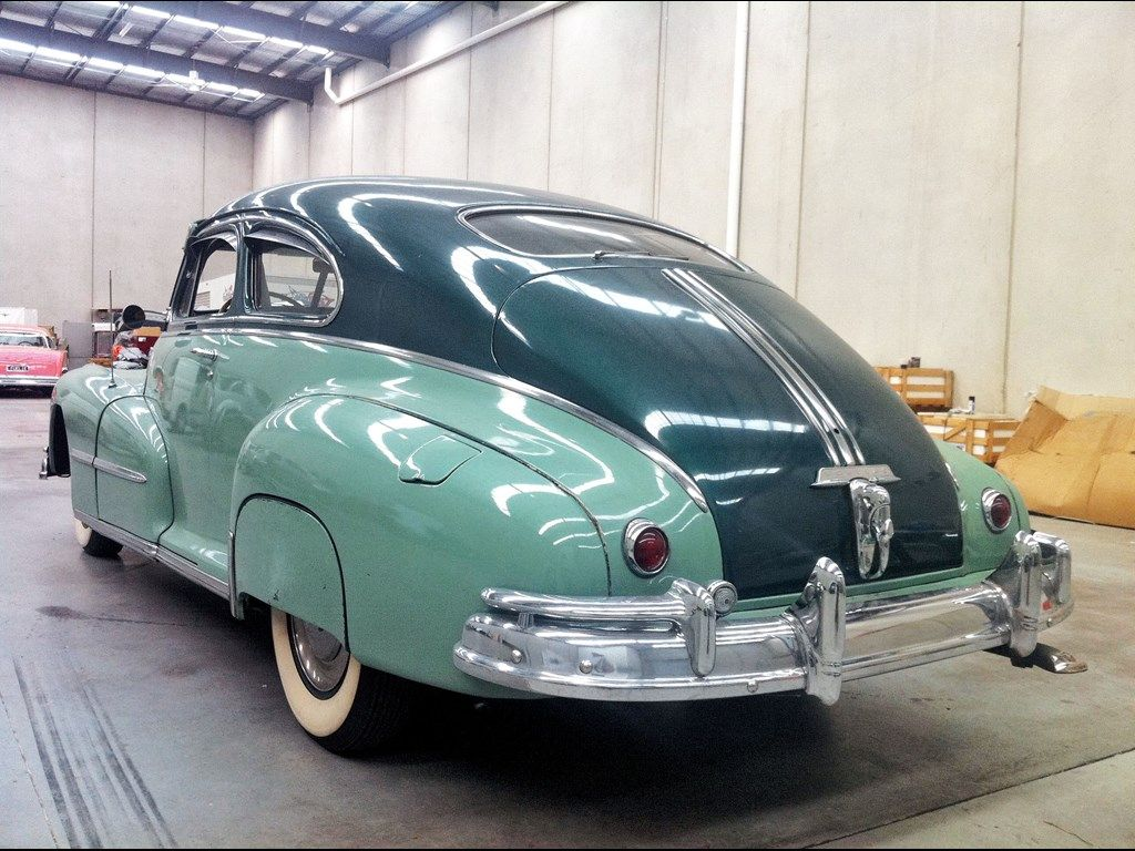 1948 PONTIAC STREAMLINER Silverstreak for sale | Trade Unique Cars ...