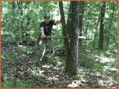 Throwing Sticks For Wilderness Survival..Good video here showing how to make and throw. also written instructions