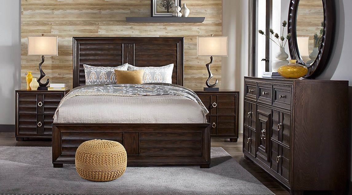 affordable cindy crawford queen bedroom sets  rooms to go