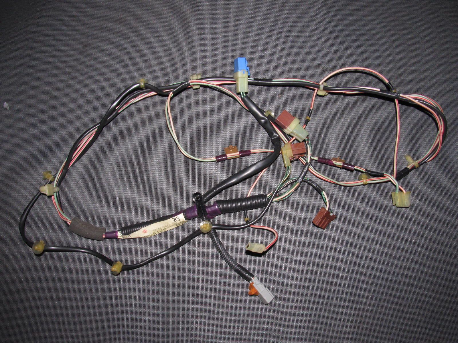 94 01 acura integra oem coupe headliner sunroof motor map lamp light wiring harness [ 1600 x 1200 Pixel ]
