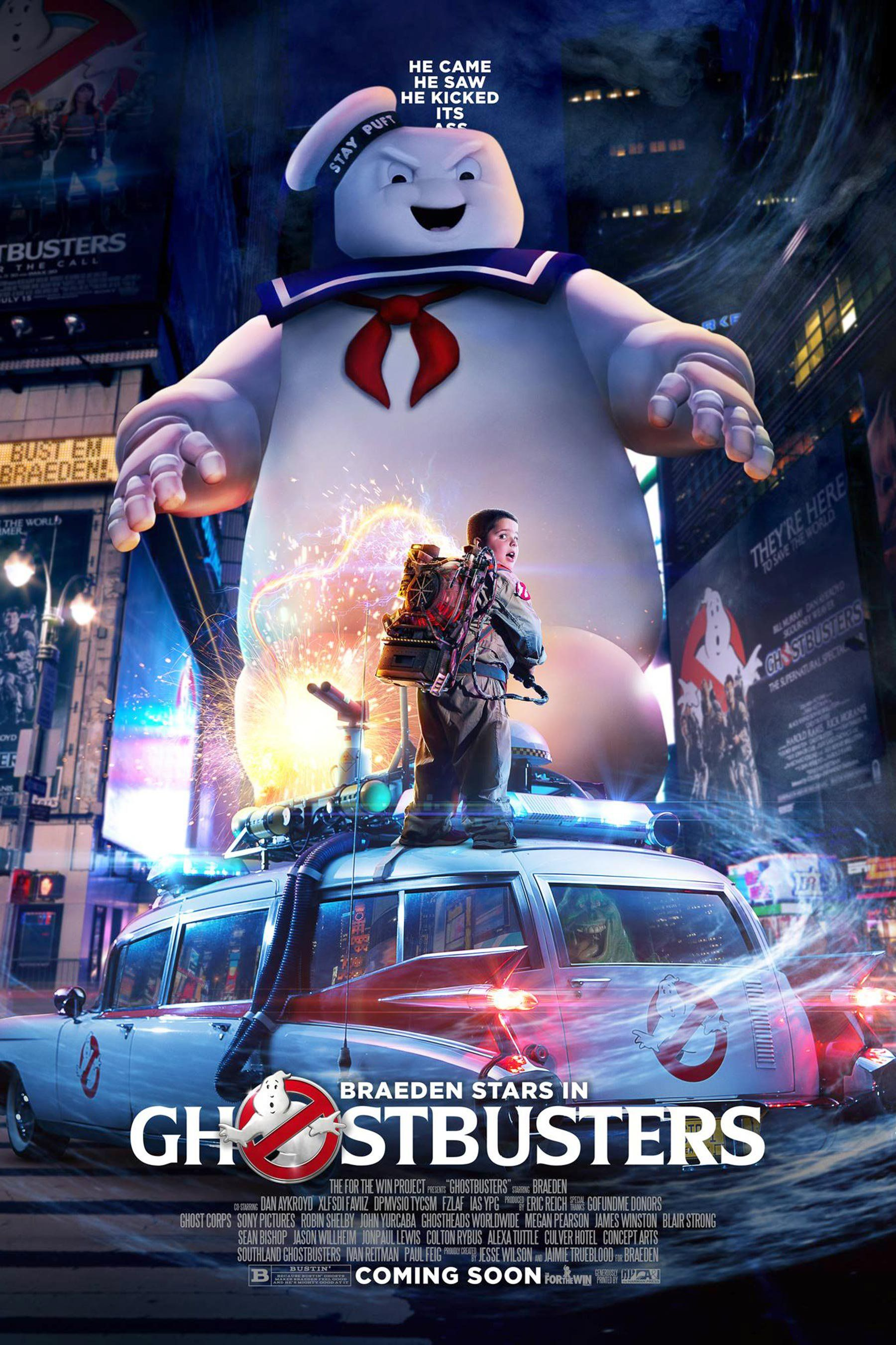 Ghosbusters Dan Aykroyd Helps Young Fan Live His Dream Ghostbusters Ghostbusters Movie The Real Ghostbusters