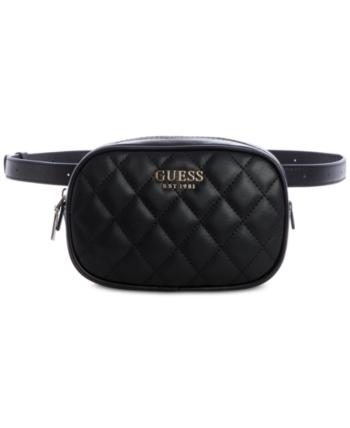872a65cca4fa49 Guess Sweet Candy Belt Bag - Black | Products in 2019 | Bags, Black ...