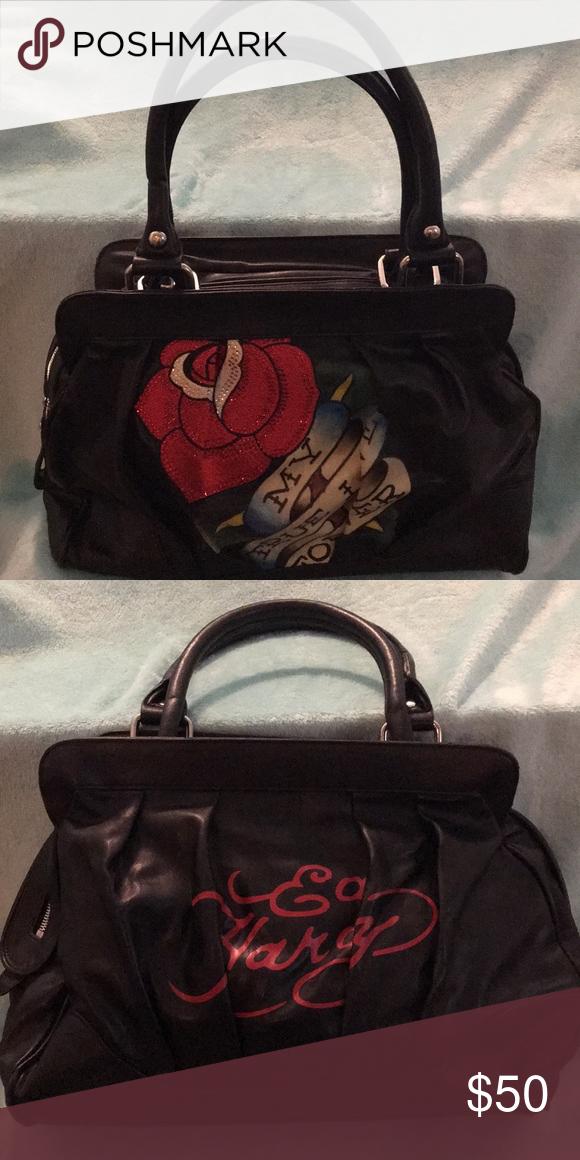 Ed Hardy bag   My Posh Closet   Pinterest   Bags, Closet and My true ... 647625c284