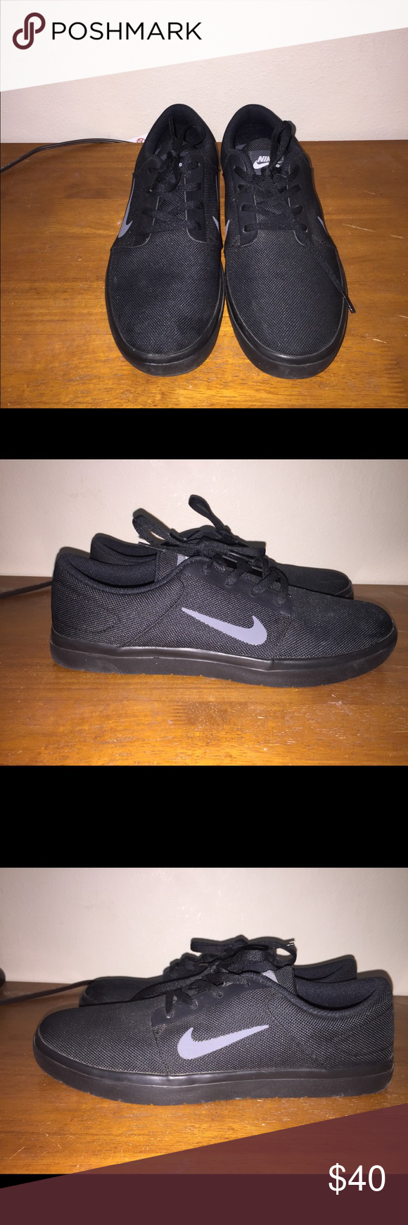 Size 10 men's SB Nike shoes Size 10 Nike men SB shoes Shoes only been used  twice price tag are still on Shoes does not contain any rips box also  doesn't ...