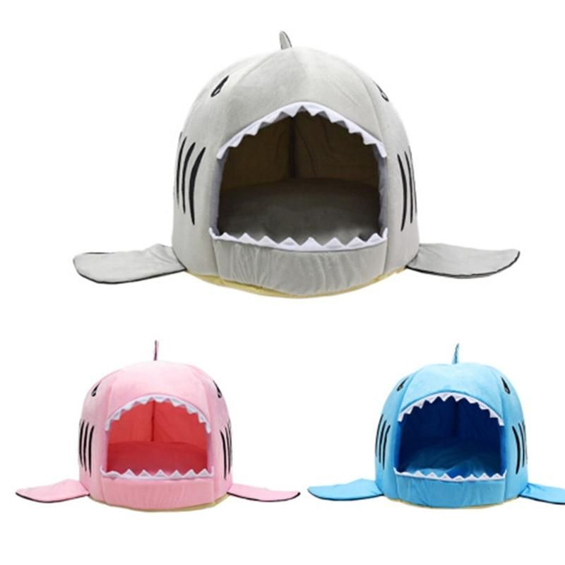 Chihuahua Shark Bed Dog Tent Dog Beds For Small Dogs Kitten Beds