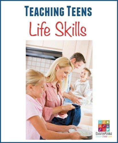 Teaching teen life skill