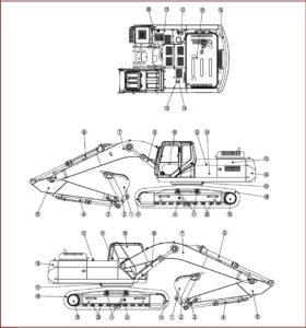 Case Cx130b Tier 3 Crawler Excavator Operators Manual