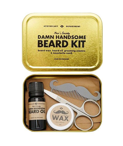 Funny Gifts For Men If He Insists On Sticking With The Beard Help Him Keep It Tidy And Trimmed This Grooming Kit