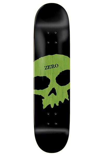 ZERO Skateboard Complete SINGLE SKULL 8.25 Black Trucks ASSEMBLED
