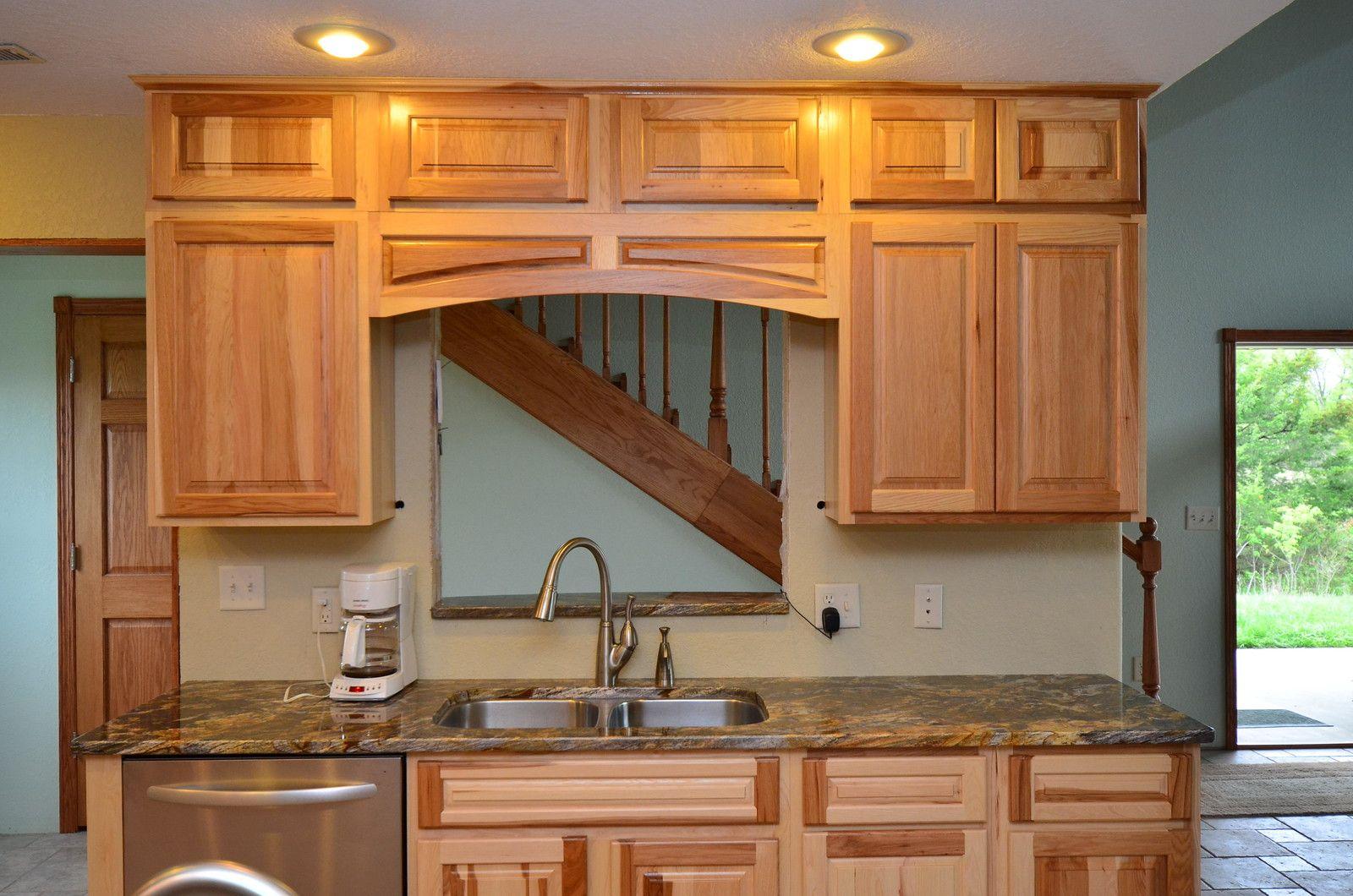 Kraftmaid Marquette Hickory Natural 04 2012 Kraftmaid Kraftmaid Cabinets Room Upgrade
