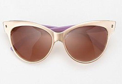Sunglasses: from classic to trendy: Contessa Cat-Eye Sunglasses.