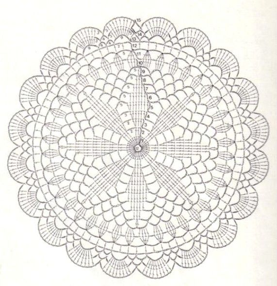 dessous de verre 2... | Crochet doilies | Pinterest | Häkelanleitung ...