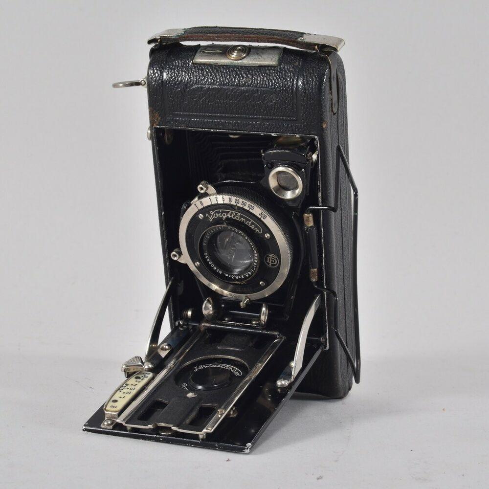 Ebay Sponsored I39w11 Alte Fotokamera Voigtlander Mit Leder Etui