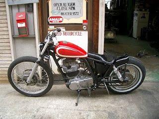 Yamaha SR 500 by Greed Motorcycles   Japan
