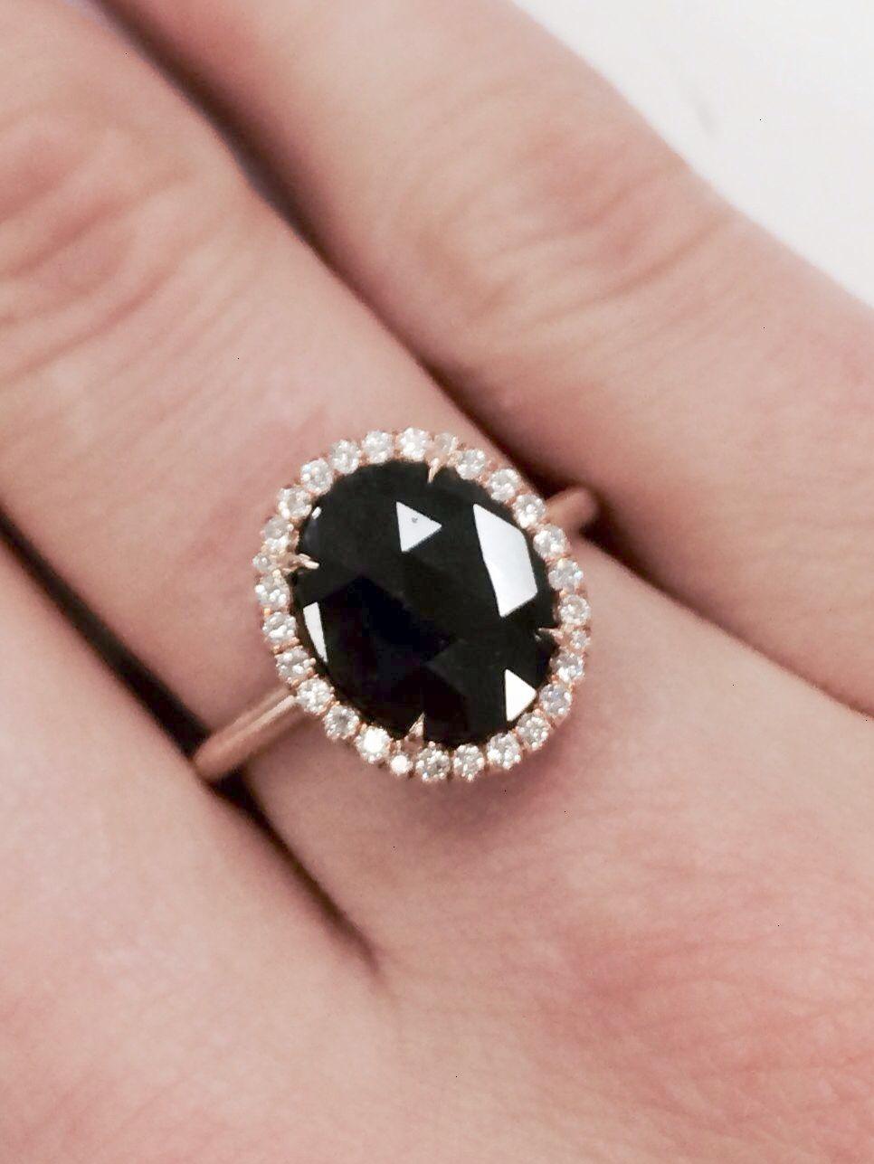Vintage inspired black diamond ring #blackdiamondjewelry | Jewelry ...