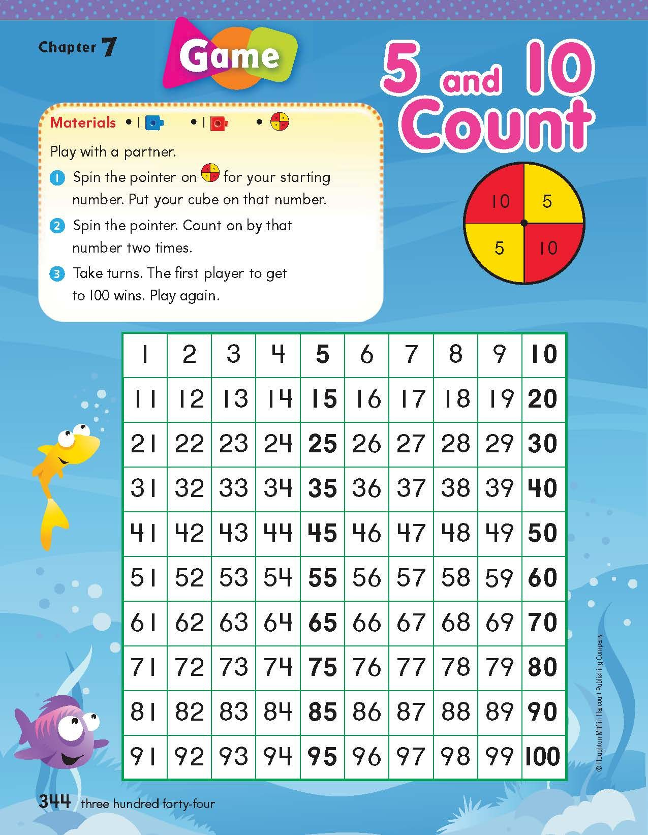 Enjoy This Great Math And Counting Game From Houghton