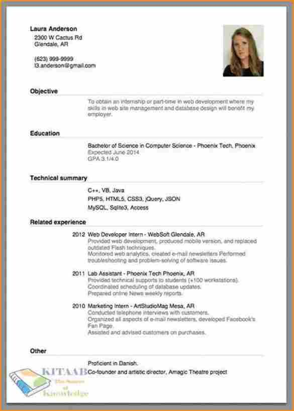 tips to write a good resume - Funfpandroid