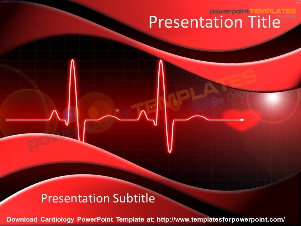 cardiovascular powerpoint template free - download cardiology powerpoint template with niche ppt