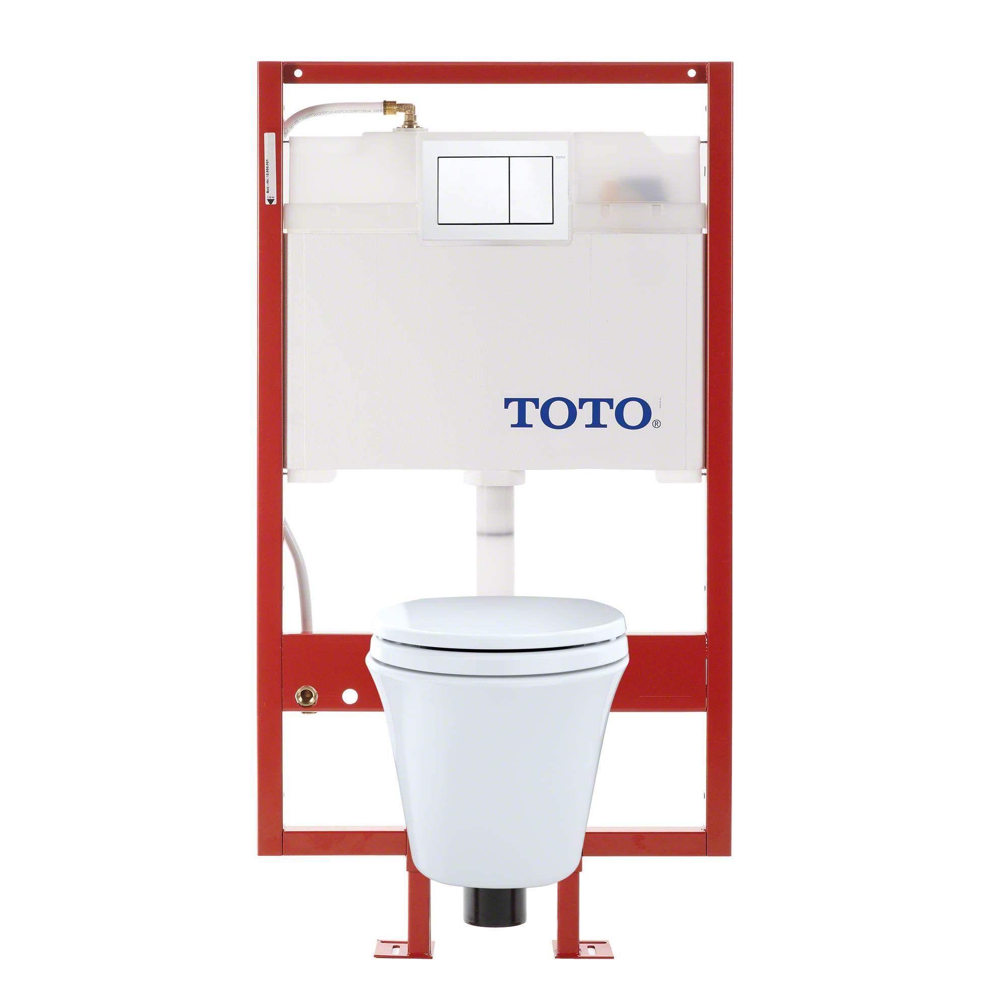 Toto Two Piece Toilet CWT486MFG-1#01 Cotton White 645 $ https://www ...
