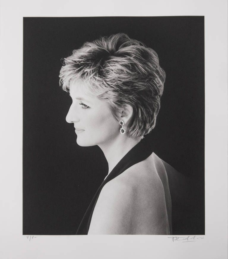 H.R.H. Diana, Princess of Wales | From a unique collection of portrait photography at https://www.1stdibs.com/art/photography/portrait-photography/