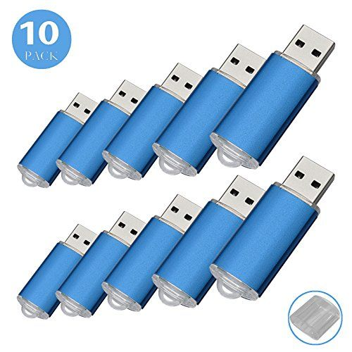 10pack Usb Flash Drive Usb20 Memory Stick Memory Drive Pen Drive 1g Blue Click On The Image For Additional Details T Flash Drive Pen Drive Usb Flash Drive