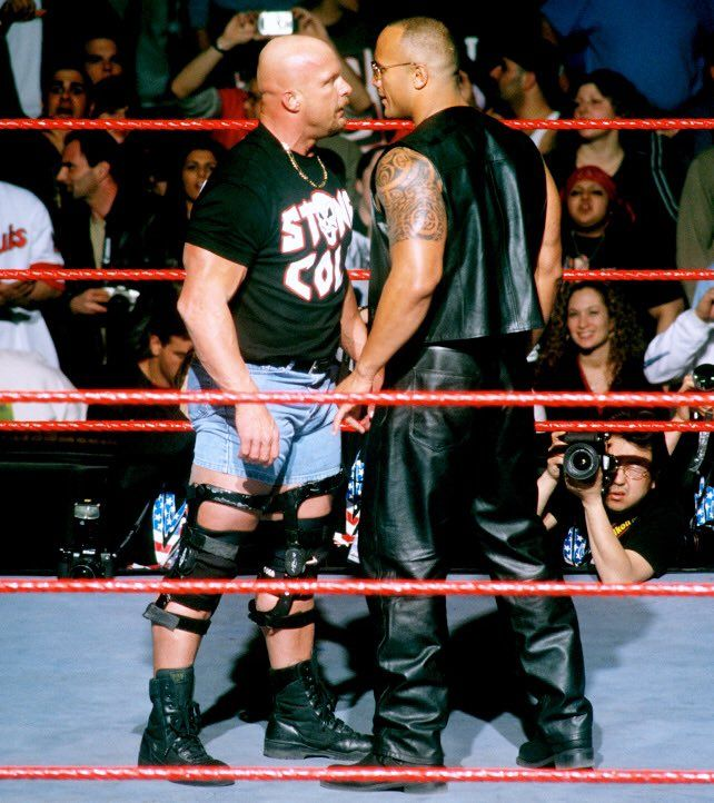 Why Expectations Of Real Men And What They D Do In A Fight Are A Problem Wwe The Rock Steve Austin Wrestling Superstars
