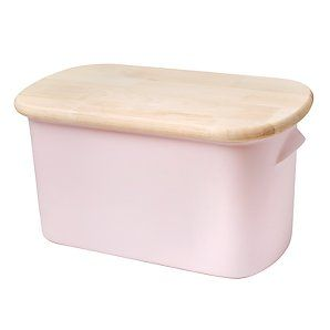Nigella Lawson Ceramic Bread Bin In Pink Kitchen Diner Lounge