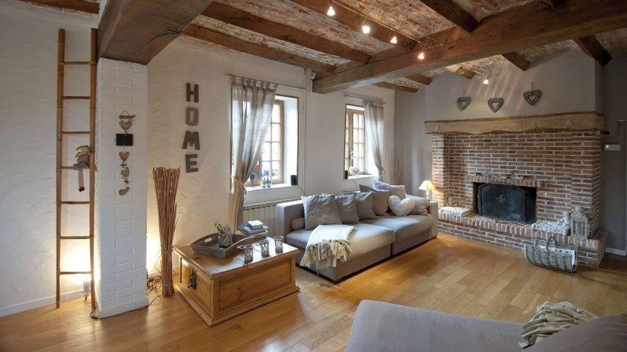 le clos du carme une maison de campagne chic cocooning. Black Bedroom Furniture Sets. Home Design Ideas