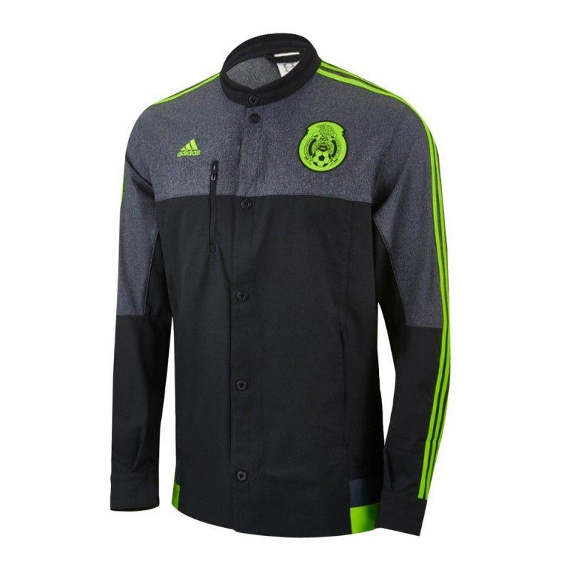 e13d5eccb1e87 Chamarra Adidas Fútbol Selección Mexicana Anthem 15 16 - Tienda Oficial de  la Selección