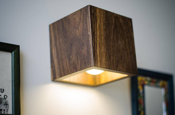Wall lamp wooden q144 handmade wall light sconce wood lamp wall lamp wooden q144 handmade wall light sconce wood lamp wooden lamp minimalist light natural dark brown bog oak wall lamp aloadofball Images