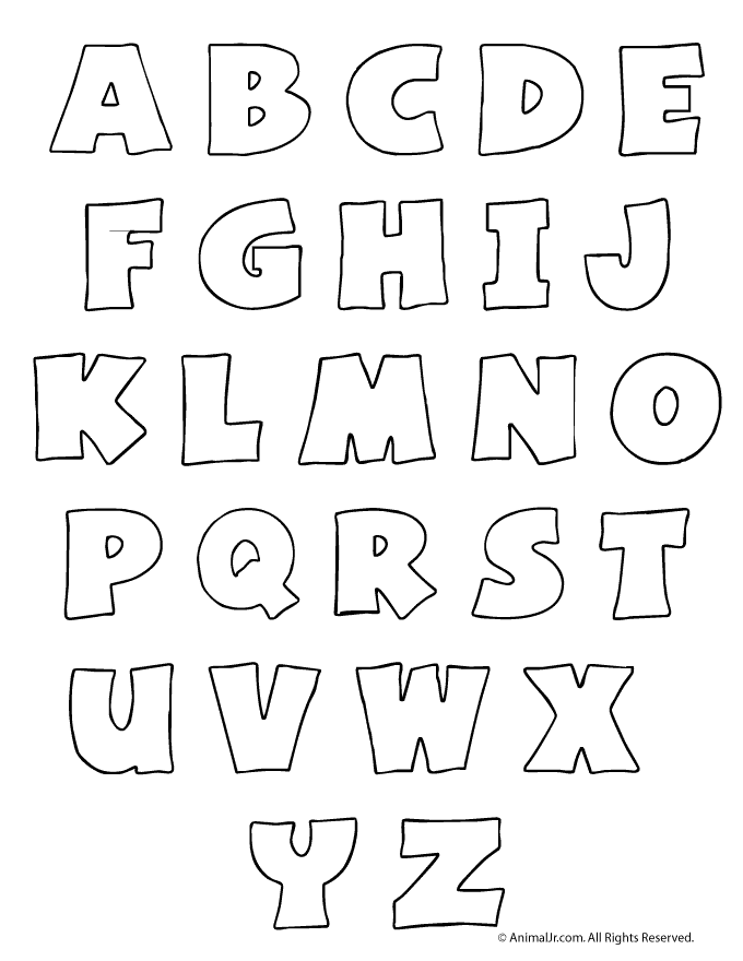 There Are A Lot Of Uses For Bubble Letters Like For Craft