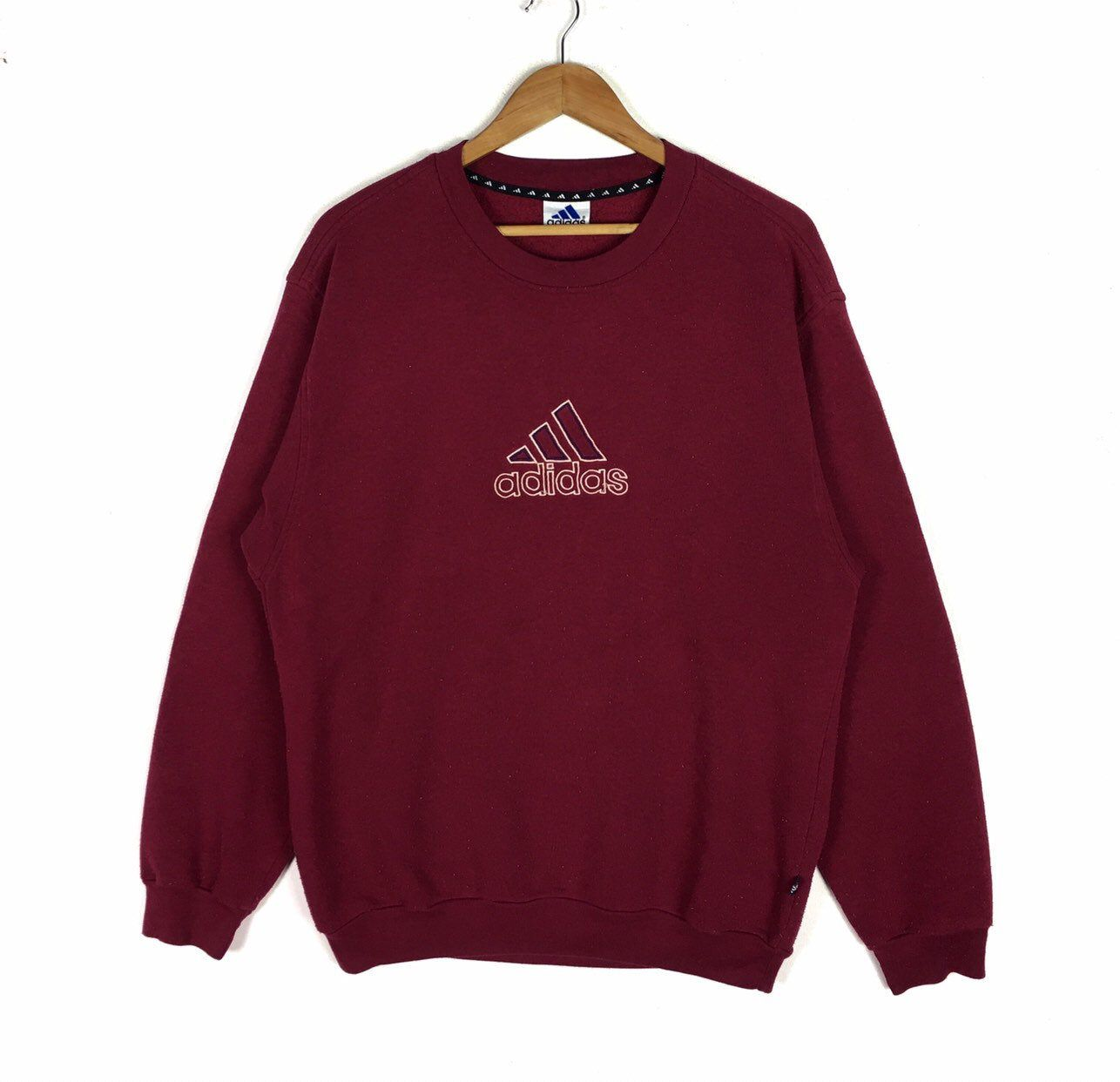 Excited To Share This Item From My Etsy Shop Vintage Adidas Big Logo Embroidery Sweatshirt L Size Vintage Adidas Sweatshirts Embroidery Sweatshirt [ 1242 x 1286 Pixel ]