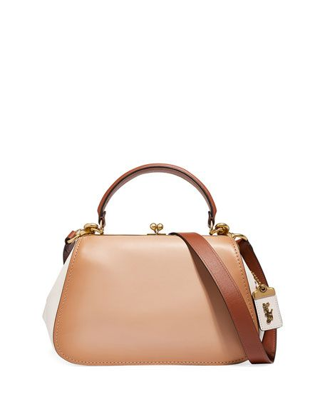 e95dcf87205f Coach 1941 Colorblock Frame Top Handle Bag in 2019 | Bags, Shoes ...