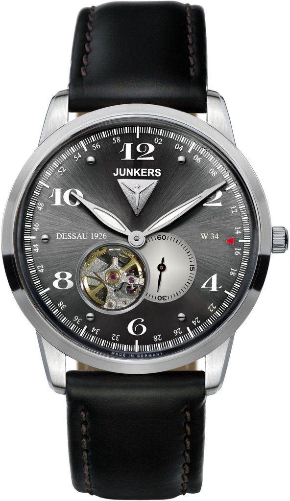 Junkers Watch Dessau 1926 Flatline #2015-2016-sale #bezel-fixed ...