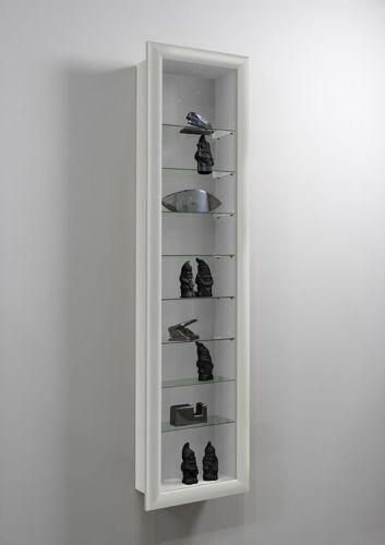 Genial Bora Wall Mounted Glass Amp Wood Display Cabinet