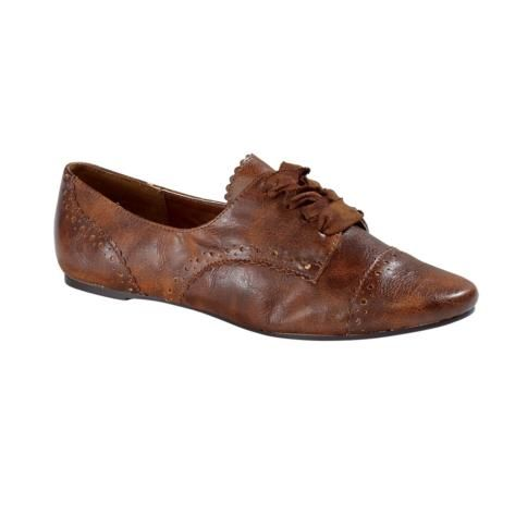 cb52e580eef4c womens Not Rated Jazzibel Oxford Casual Shoe innn Tan. i really do ...