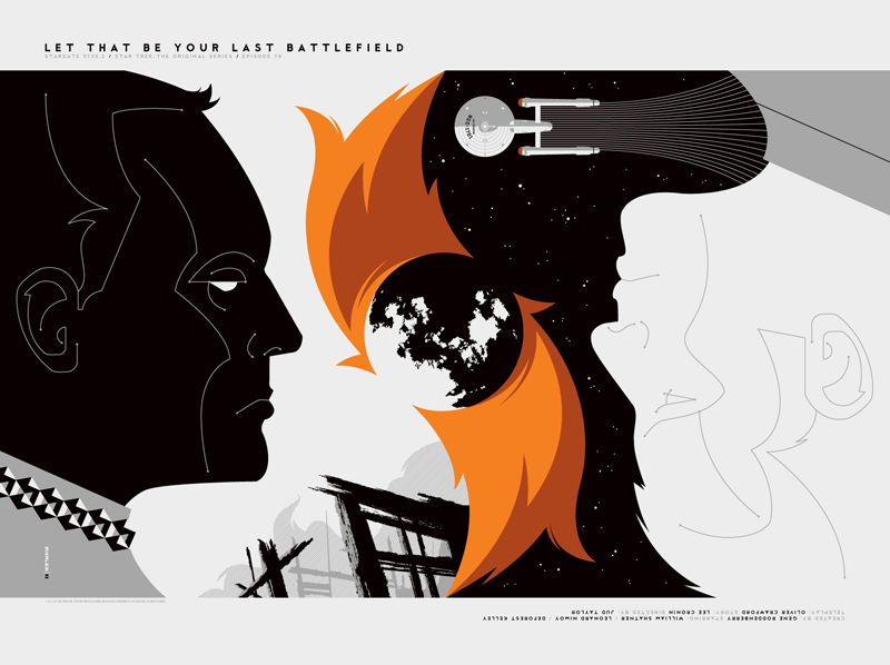 """#LetThatBeYourLastBattlefield"" by #TomWhalen. #startrek #sciencefiction #scifi"